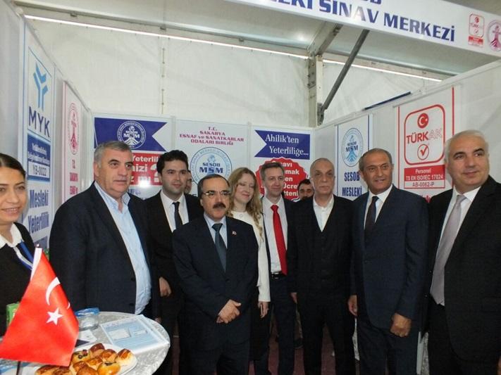 Sakarya Girişimcilik ve İnsan Kaynakları Fuarı (SAGİF 2017) Açıldı